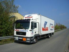 Kühlkofferfahrzeug für die Sammlung von medizinischen Abfällen