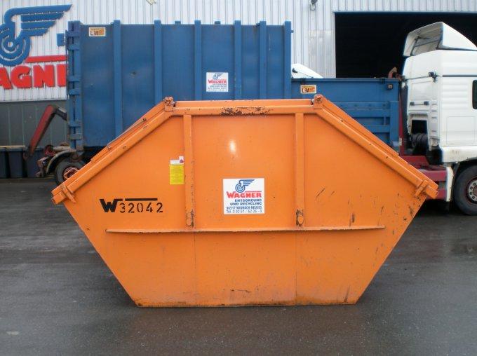Absetzcontainer 10 m³ mit Deckel