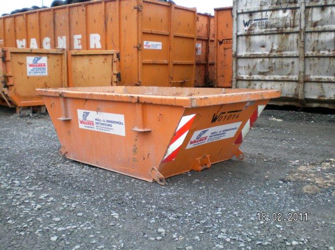 Multicar-Container 1,3 m³