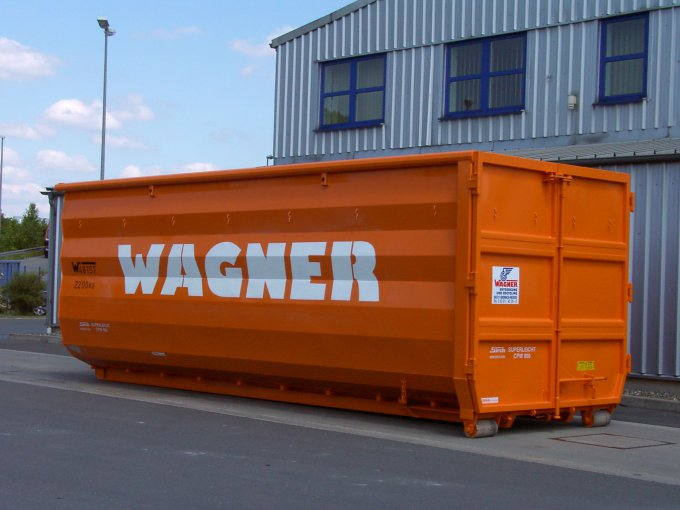 Abrollcontainer 40 m³