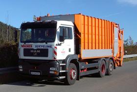 Müllabfuhr und Sondermüllabfuhr